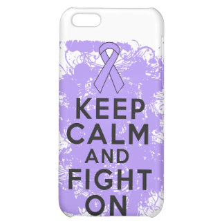 General Cancer Keep Calm and Fight On Cover For iPhone 5C