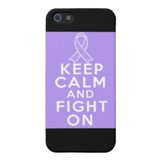 General Cancer Keep Calm and Fight On Cover For iPhone 5