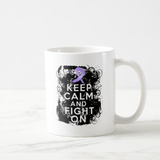 General Cancer Keep Calm and Fight On Coffee Mug