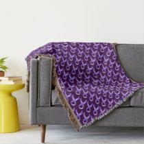 General Cancer - Lavender Ribbon Throw