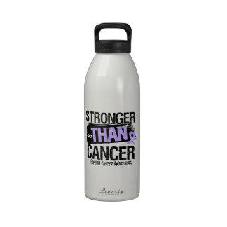 General Cancer - más fuerte que cáncer Botella De Agua