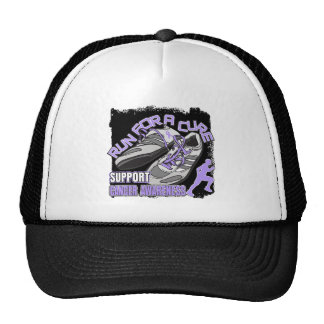 General Cancer - Men Run For A Cure Trucker Hat