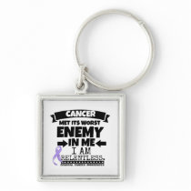 General Cancer Met Its Worst Enemy in Me Keychain