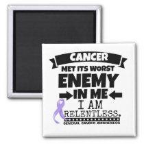 General Cancer Met Its Worst Enemy in Me Magnet