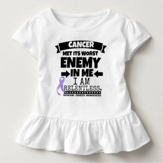 General Cancer Met Its Worst Enemy in Me Toddler T-shirt