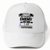 General Cancer Met Its Worst Enemy in Me Trucker Hat