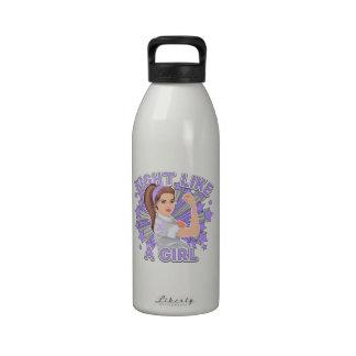 General Cancer Modern Rosie Fight Drinking Bottle
