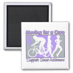 General Cancer Moving For A Cure Fridge Magnet