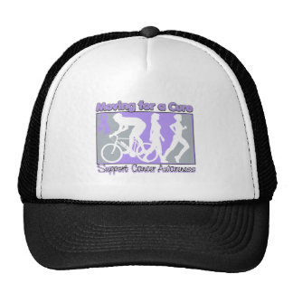 General Cancer Moving For A Cure Trucker Hat