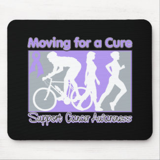 General Cancer Moving For A Cure Mouse Pads