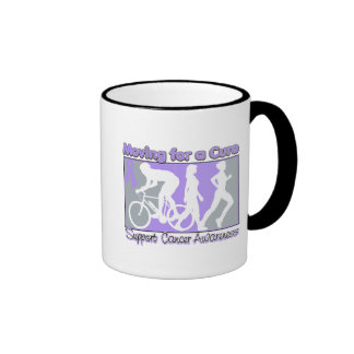 General Cancer Moving For A Cure Mug