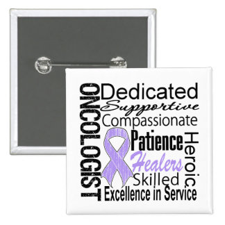General Cancer Oncologist Collage Pins