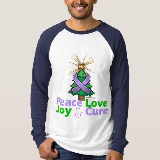 General Cancer Peace Love Joy Cure Shirts