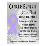 "General Cancer Personalized Benefit Flyer Folleto 8.5"" X 11"""