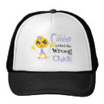 General Cancer Picked The Wrong Chick Mesh Hat