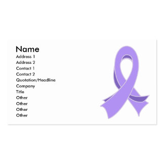 General Cancer Ribbon Business Card
