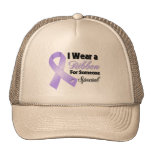 General Cancer Ribbon Someone Special Mesh Hats