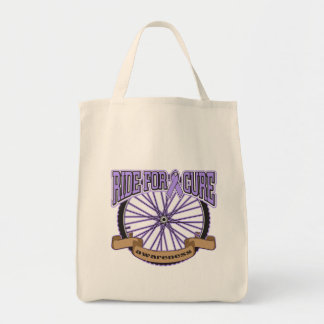 General Cancer Ride For Cure Tote Bags