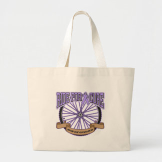 General Cancer Ride For Cure Canvas Bag