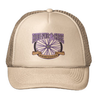 General Cancer Ride For Cure Trucker Hat