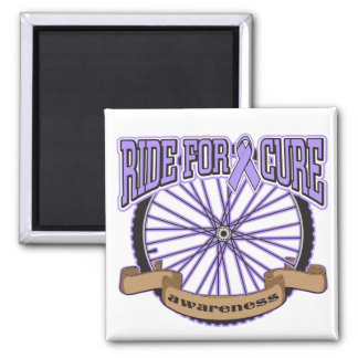 General Cancer Ride For Cure Fridge Magnets