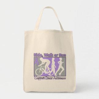 General Cancer Ride Walk Run Canvas Bag