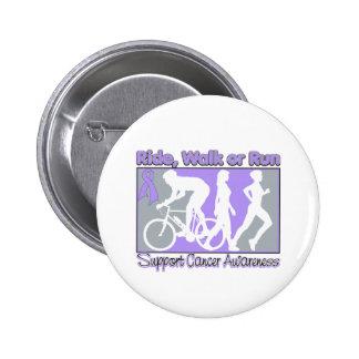 General Cancer Ride Walk Run Pins