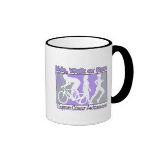 General Cancer Ride Walk Run Coffee Mugs