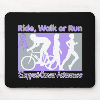 General Cancer Ride Walk Run Mouse Pad