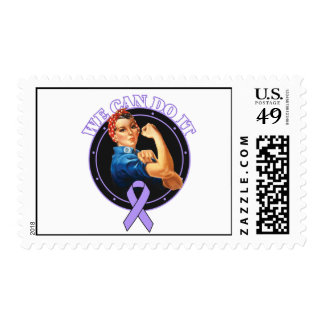 General Cancer - Rosie The Riveter - We Can Do It Postage Stamp