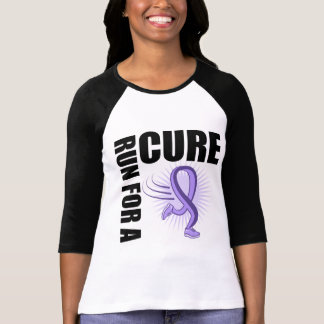 General Cancer Run For A Cure Tee Shirt