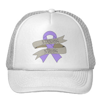 General Cancer Standing Strong Gorro De Camionero