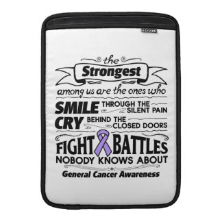 General Cancer Strongest Among Us MacBook Air Sleeve