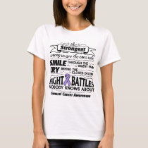 General Cancer Strongest Among Us T-Shirt