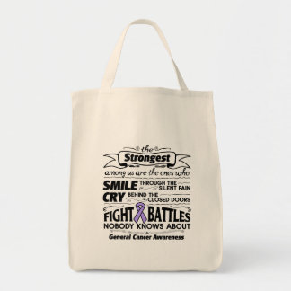 General Cancer Strongest Among Us Tote Bag