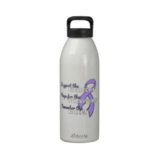 General Cancer Support Hope Remember Botella De Agua Reutilizable