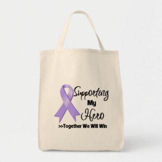 General Cancer Supporting My Hero Bolsas De Mano