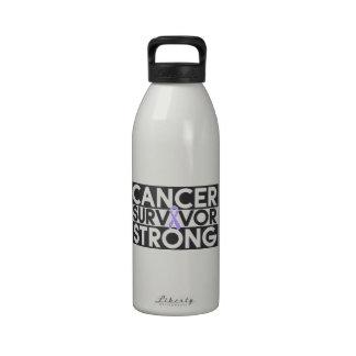 General Cancer Survivor Strong Botallas De Agua