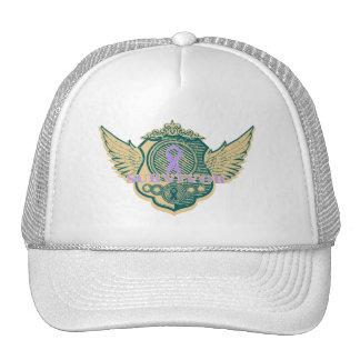 General Cancer Survivor Vintage Winged Mesh Hat