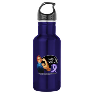 General Cancer Take a Stand 18oz Water Bottle