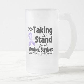 General Cancer Taking un tributo del soporte Tazas