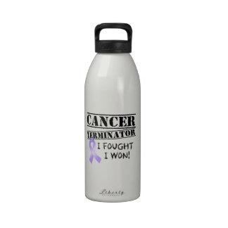 General Cancer Terminator Botella De Agua Reutilizable
