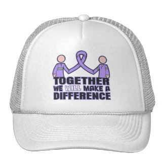 General Cancer Together We Will Make A Difference. Trucker Hat