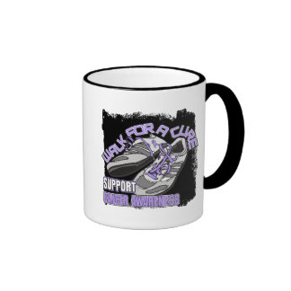 General Cancer Walk For A Cure Shoes Coffee Mugs
