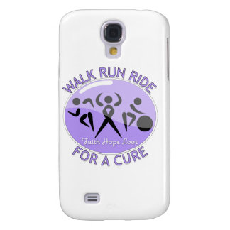 General Cancer Walk Run Ride For A Cure Galaxy S4 Covers