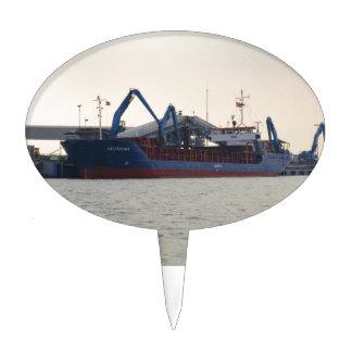 General Cargo Ship Celtica Hav Cake Topper
