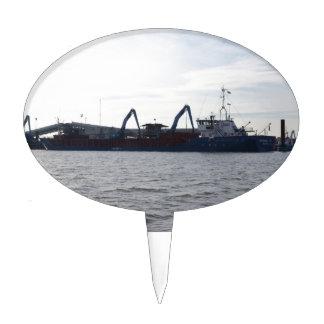 General Cargo Ship Germanica Hav Cake Topper