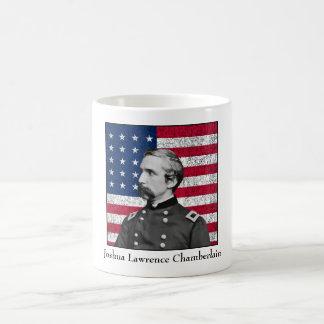 General Chamberlain and The American Flag Coffee Mug
