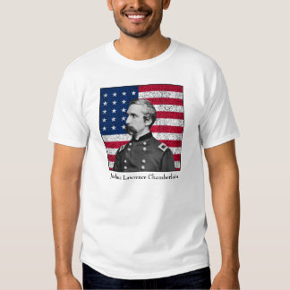 General Chamberlain and The American Flag Shirt