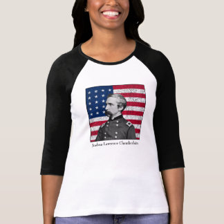 General Chamberlain and The American Flag Shirts